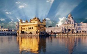 The most famous Gurudwara, The Golden Temple (Amritsar)