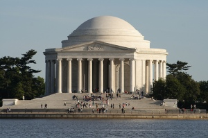 The Jefferson Memorial - Washington  DC