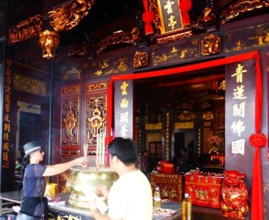Chen Hoon Teng Temple (private retreat)-Melaka, Malaysia ©Rita Minassian