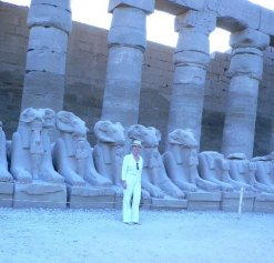 Initiatory travel Karnak Temple-Egypt ©Rita Minassian