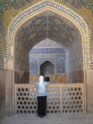 Initiatory travel, Blue Mosque-Tabriz, Iran ©Rita Minassian