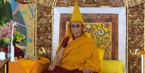 Teachings with the 14th Dalai Lama-Dharamsala, Himalayas
