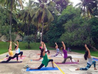 Group retreat in Kerala, Daily Yoga Class-Kerala, India