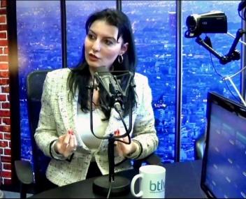 BTLV radio TV interview Paris, France